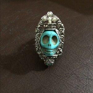 Ollipop USA Junk Gypsy Skull Ring